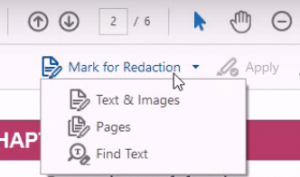 how to redact in adobe